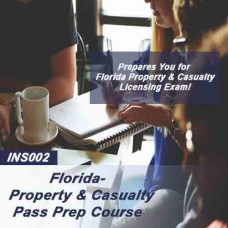 Florida: Property & Casualty Insurance Licensing Cram Course Pass Prep Course (INS002FL)
