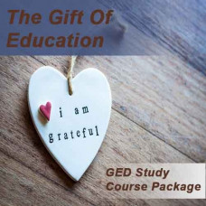 The Gift of Education (GED Study course package)